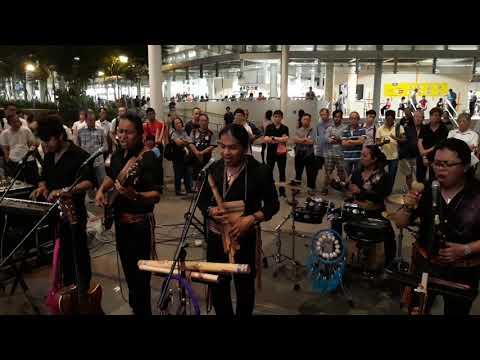 SISAY band at Bedok Mall, Singapore