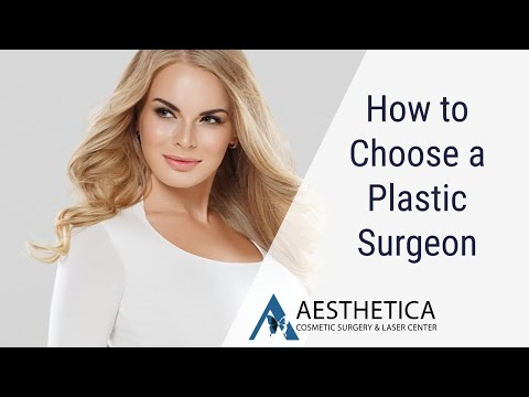 How to Choose a Plastic Surgeon - Dr Phillip Chang MD