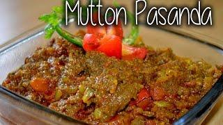 Mutton Pasanda