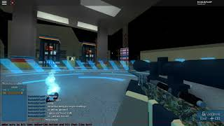 Roblox-Modded phantom forces-Sniper challenge(but a little sniper)