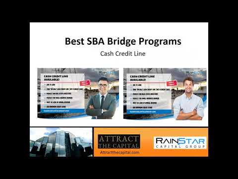 Best SBA Bridge Cash Credit Line