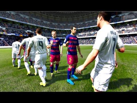 FIFA 16 - Real Madrid vs Barcelona (FIFA 2016 PC Full Gameplay)