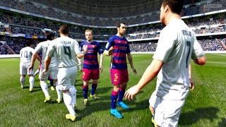 FIFA 16 - Real Madrid vs Barcelona (FIFA 2016 PC Full Gameplay)