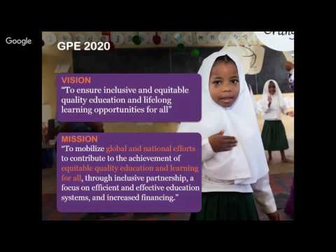 SECOND Webinar: GPE 2020 Strategic Plan and the Gender Equality Policy and Strategy