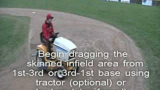 Baseball Field Maintenance (Post Game & Practice) 7 Steps