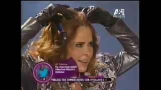 Gloria Trevi , Punto G, Agarrate, Pelo Suelto, Con los Ojos Cerrados live show