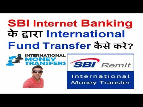 How to send money from india to usa through sbi