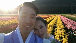 AMWF: Our Hanbok Engagement Photoshoot Video
