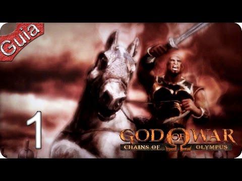 God of War Chains of Olympus HD Walkthrough parte 1 Español