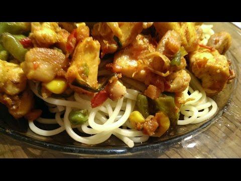 Салаты из курицы филе Как вкусно приготовить салат с