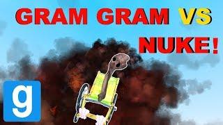 WILL GRAM-GRAM SURVIVE THE NUKE? - Garry's mod Sandbox
