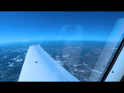 A Winter Flight Across the Country - Chicago to Florida Cirrus SR22