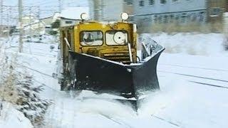 冬の守護神! 南部縦貫鉄道 DB11ラッセル【鉄道アーカイブ #06】Small Snow-plough on the Nanbu Jukan Railway Line