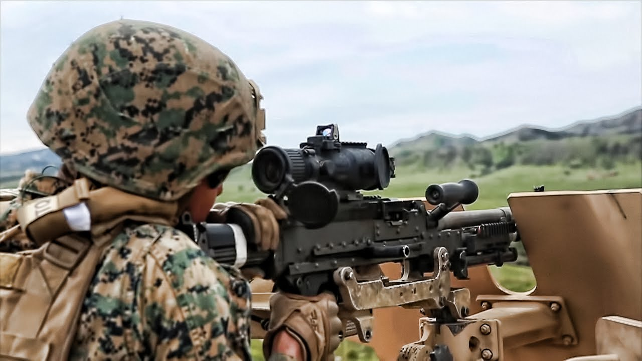 U.S. Marines Live-Fire Training • Vehicle Mounted Weapons