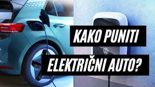 Punjenje električnog vozila: ID.3