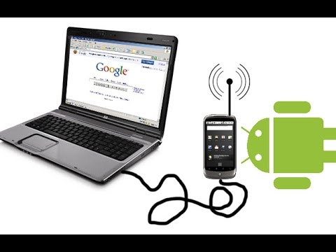 How to get internet on your laptop from your Android data package  using a USB cable