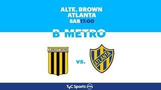 Almirante Brown vs Atlanta full match