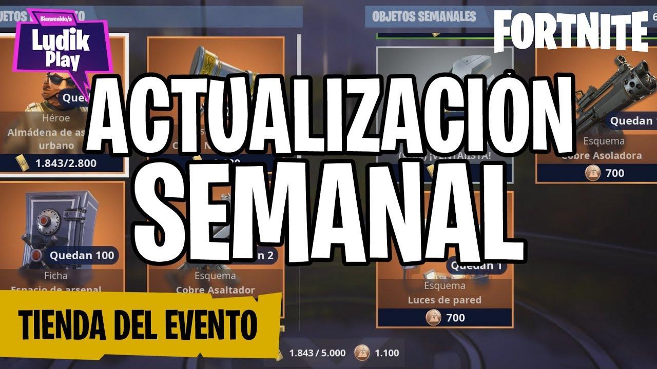 TIENDA DEL EVENTO: ALMÁDENA ASALTO URBANO | FORTNITE SALVAR EL MUNDO | GUÍA ESPAÑOL