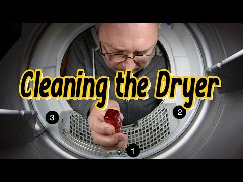 Dryer Filter Sensor Cleaning Maintenance
