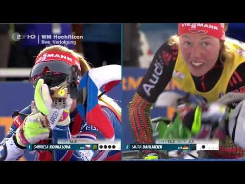 Damen 10 km Verfolgung Biathlon WM Hochfilzen 2017/HD