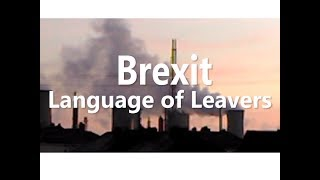 Brexit: Language of Leavers