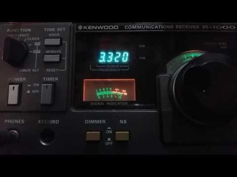 Radio Sonder Grense, via Meyerton SOUTH AFRICA - 3320 kHz