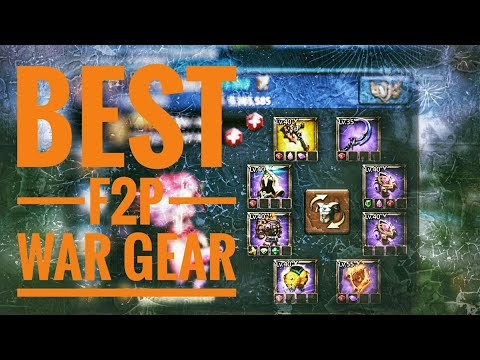 Lords Mobile - Best F2P War Gear