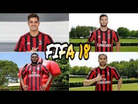 Fifa 18 ac milan players faces youtube for Fifa 17 milan