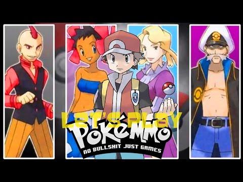 Let's Play PokeMMO Pt. 12 - Oliver V.S. Elite Four