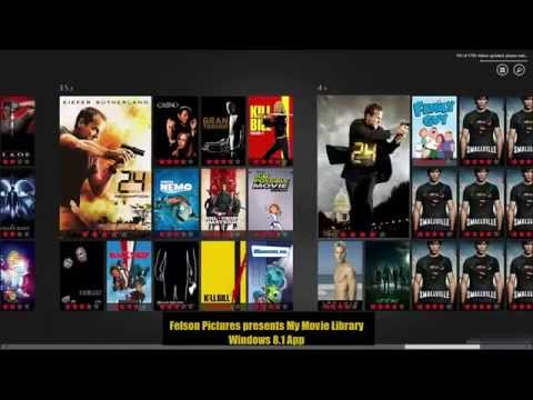 My Personal Movie Library App