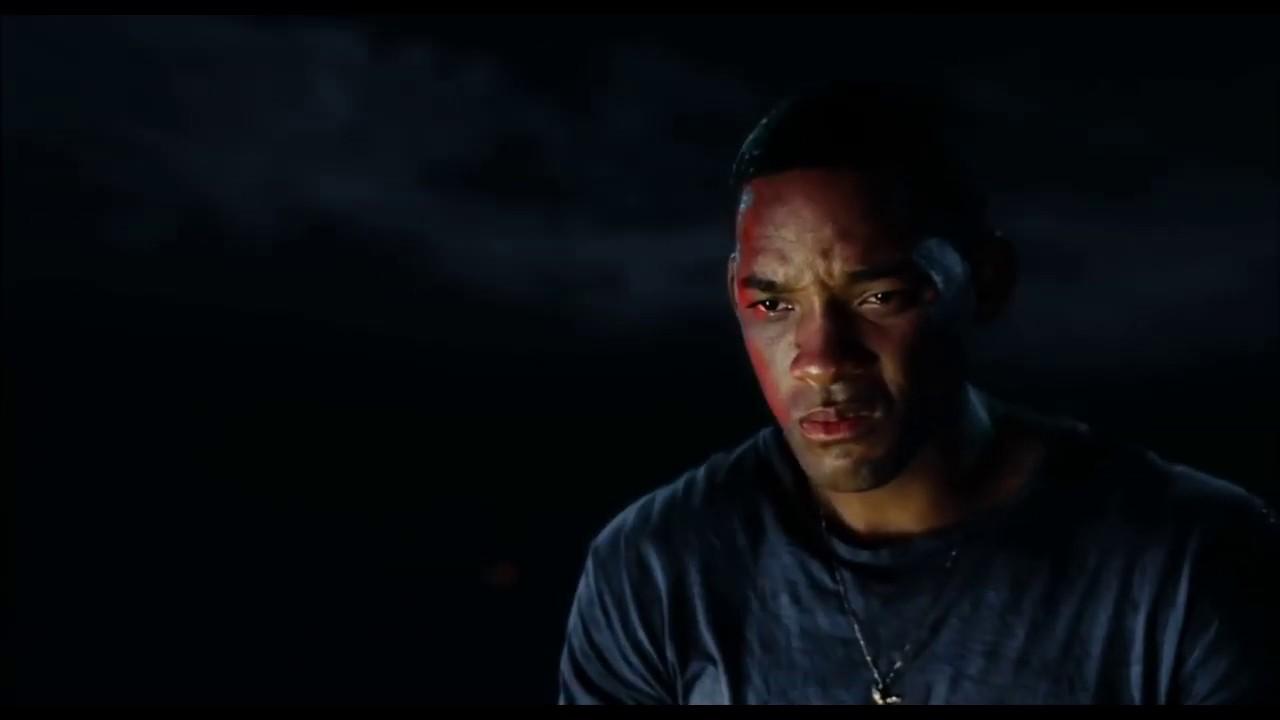 a Still from Hancock movie