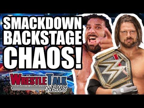 AJ Styles Vs. Jinder Mahal Backstage WWE Smackdown Details! | WrestleTalk News Nov. 2017
