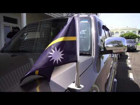 Nauru President pays a courtesy visit to Fijian President