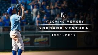In Loving Memory of YORDANO VENTURA (1991-2017) #ForeverRoyal #RIPAce