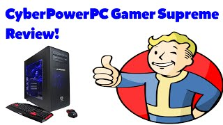CyberPowerPC Gaming PC Review!/ Fallout 4 Gameplay