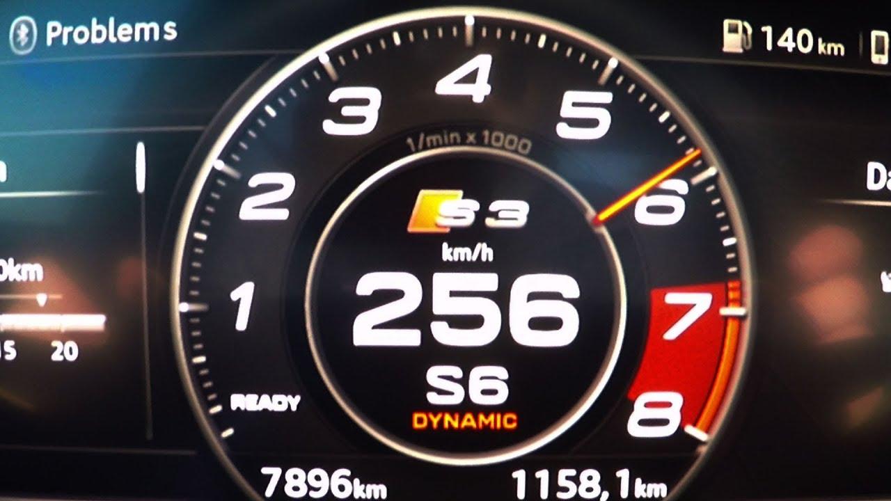 2018 audi s3 sportback 2 0 tfsi 0 100 kmh kph 0 60 mph tachovideo rh youtube com