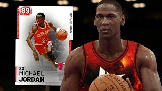 RUBY MICHAEL JORDAN GAMEPLAY! BEST ANIMATIONS!! (NBA 2K19 MYTEAM)