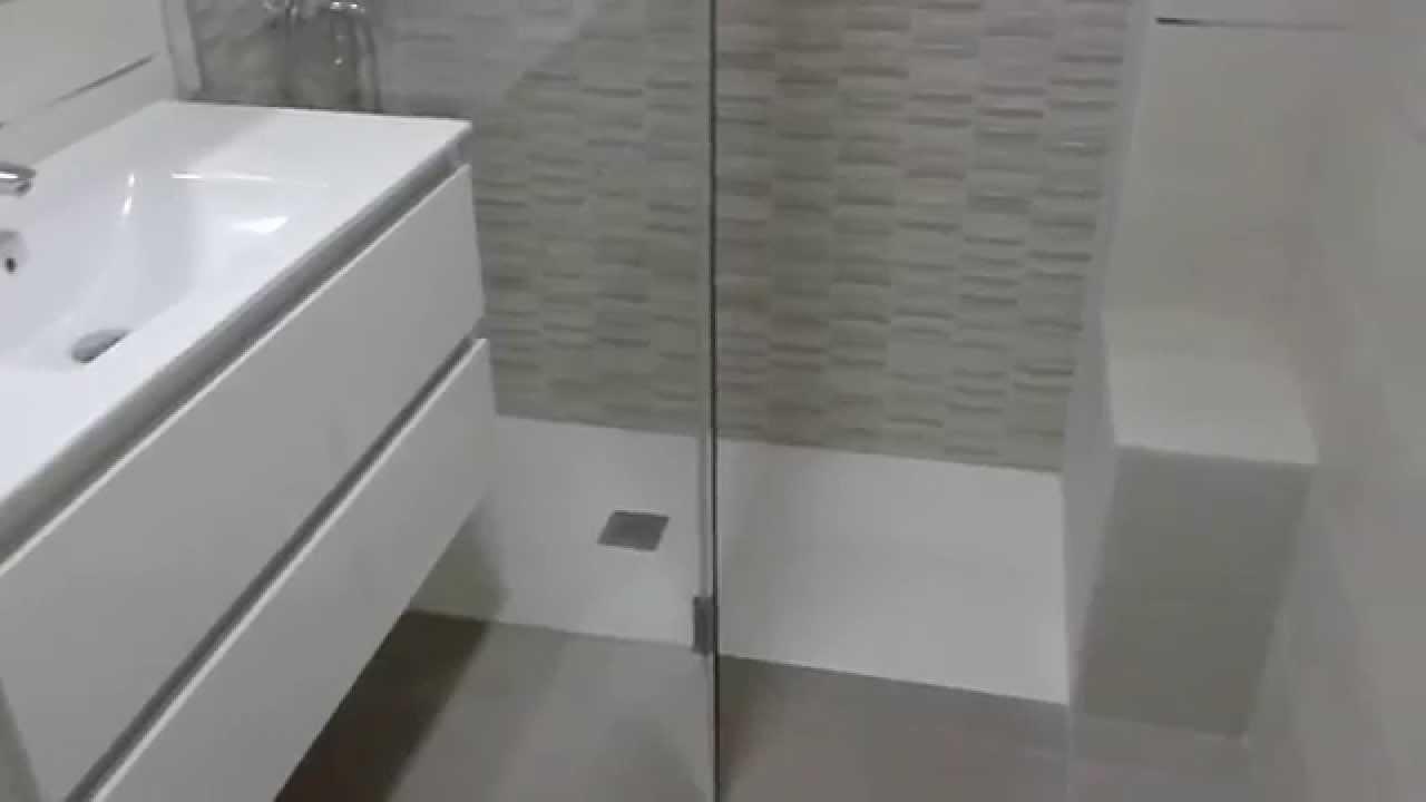 Cuarto de baño reformado Gris✅✅✅ - YouTube