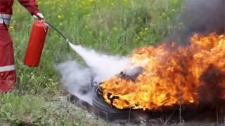 видео Углекислотные огнетушители