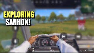 FPP Driving Is Here | PUBG Mobile | Sanhok QBZ & QBU Gameplay!