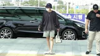BTS J-HOPE Departure to LA 190819 for promotion international