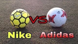Nike VS Adidas / Сравнение мячей (пародия)