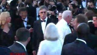 BRAD PITT GEORGE CLOONEY at CANNES FILM FESTIVAL - RED CARPET- OCEAN 13 / P3