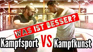 Kampfsport VS Kampfkunst - Was ist effektiver ?! | KAMPFKUNST LIFESTYLE
