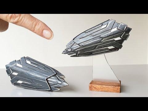 Mini Wakanda Shield - Built From Scrap
