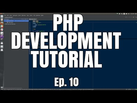 Intro to Object-Oriented Programming (Part 1) // PHP Development Tutorial // Episode 10
