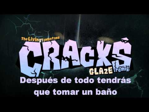 The Living Tombstone - Cracks [Glaze Remix] [Sub Español]