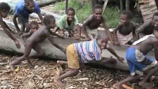 rowing - Asmat Papua