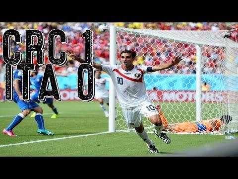 Costa Rica Blanks Italy, England Eliminated [Costa Rica vs. Italy 2014]