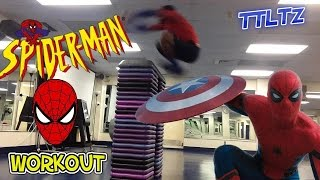 Spider-Man Body Workout   Tough Like The Toonz: EP 9